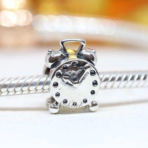 Pandora Alarm Clock 790449 Sterling Silver Charm